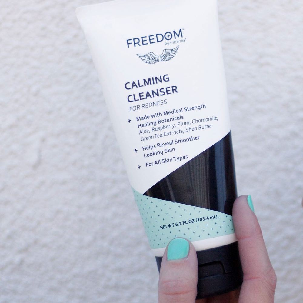 FREEDOM Naturals Calming Cleanser 6.2 oz tube