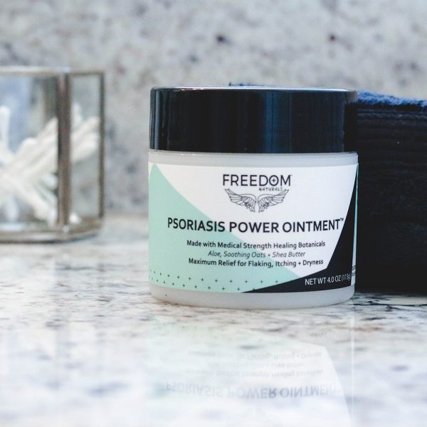 FREEDOM Naturals Psoriasis Power Ointment 4.0 oz jar
